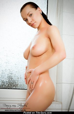 Image. Daisy Van Heyden - wonderful girl with big natural boobies image