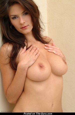 Alena Chrastinova - Delightful Czech Skirt with Pleasing Open Natural Average Titty (Sex Pic)