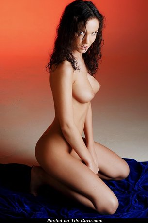 Image. Nice woman with medium natural tittys picture