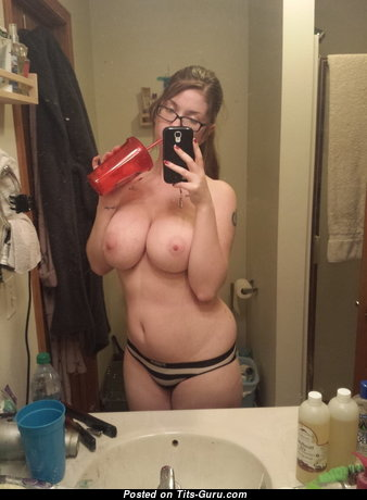 Maggie - Delightful Chick with Delightful Nude Ddd Size Breasts (Private Selfie Porn Pic)