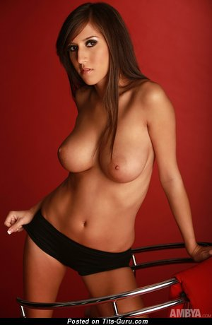 Image. Nude nice lady with big natural breast image