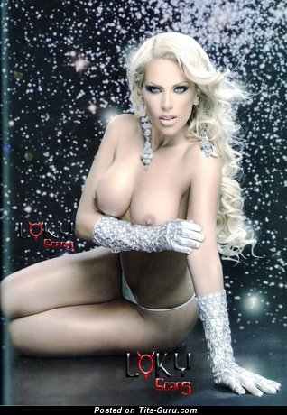 Lorena Herrera - Marvelous Mexican Blonde Actress with Marvelous Nude Round Fake Average Melons (Hd Sexual Picture)