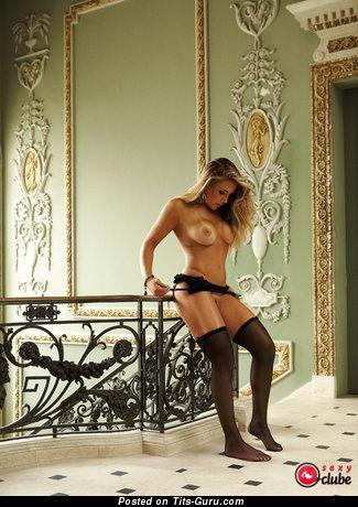 Joana Machado - naked latina blonde with big tittys image