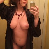 Awesome female with medium natural breast pic