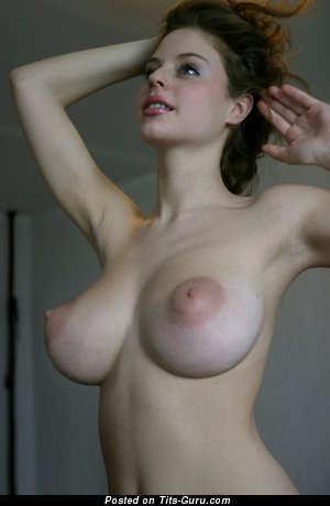 Ester - nude wonderful lady with medium natural boobies image