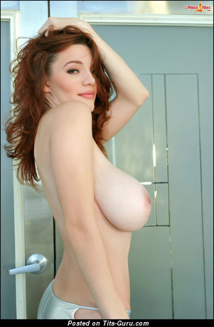 Dani Danger - Good-Looking Red Hair with Good-Looking Bare Real Very Big Tits (Hd Xxx Photo)