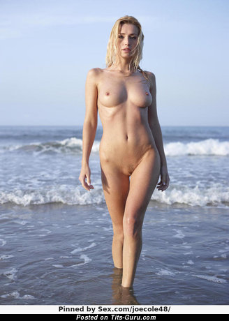 Image. Naked awesome girl with medium natural boob picture