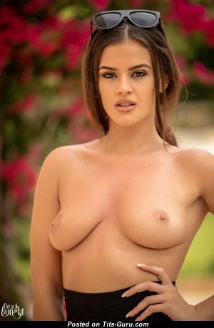 Brooke Wright - The Best Babe with The Best Bare Natural Mid Size Busts (Hd Porn Pix)