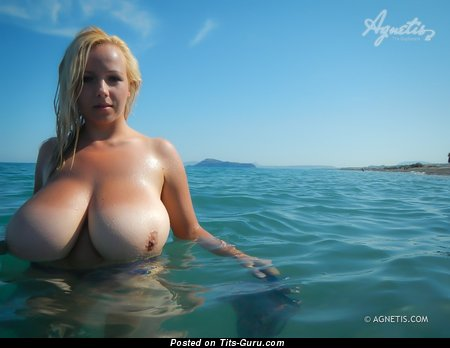 Image. Agnetis Miracle - naked amazing woman with big natural boobs photo