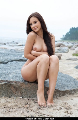 Image. Amazing woman with medium natural tittes pic