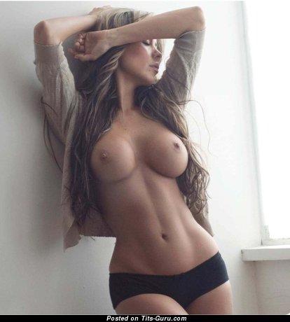 Carolina Jimenez - Fascinating Topless Latina Babe with Fascinating Bare D Size Knockers (Hd Xxx Image)