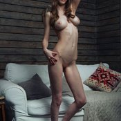 Milla W - wonderful female with medium natural tits image