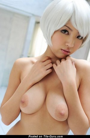 Kazuki Asou - naked asian with medium natural breast image