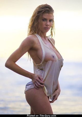 Charlotte McKinney - The Nicest Topless American Blonde Actress & Babe with The Nicest Bare Real Tight Boobys (Vintage Hd Sex Picture)