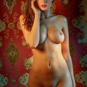 Olga Kaminska - Delightful Polish Red Hair with Delightful Open Real Firm Jugs (18+ Photo)