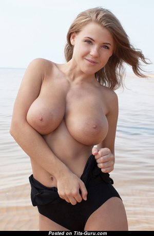 Grand Babe with Grand Nude Real D Size Tots (Hd Porn Photo)