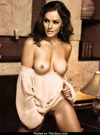 Andrea Garcia - nude latina with medium tots photo