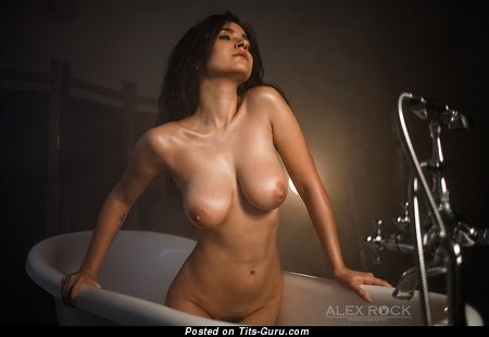 Image. Nude awesome girl with big natural boobies image