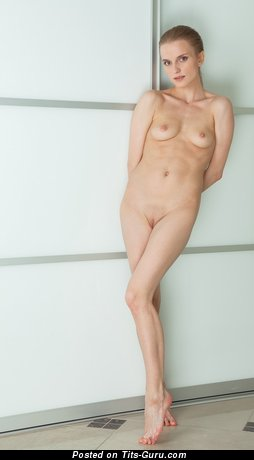 Image. Nude nice lady with small natural breast picture