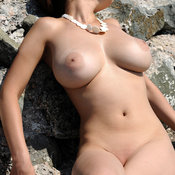 Sofi A - hot woman with big natural breast photo