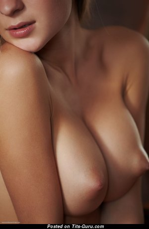 Image. Naked wonderful female with medium natural tittys image
