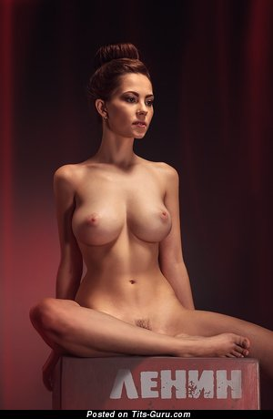 Ksyusha Egorova - sexy naked beautiful woman with medium tots photo
