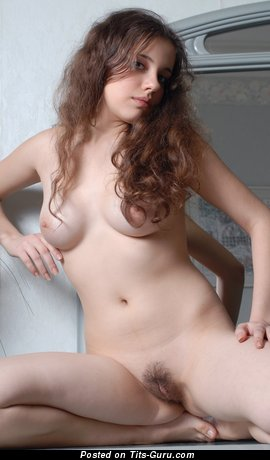 Image. Zhenya - nice lady with medium natural breast photo