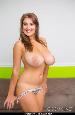 Image. Valory Irene - sexy nude amazing female with big natural tots image