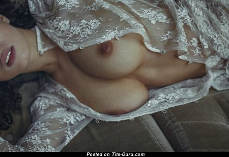 Анастасия Шпиц - Alluring Babe with Alluring Bare Real Big Sized Boobies (Hd 18+ Picture)