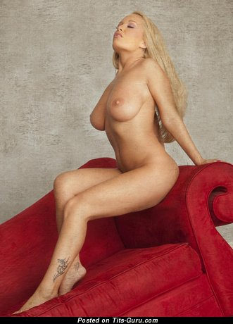 Image. Akissa - naked blonde with big natural tits picture