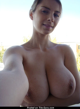 Image. Naked beautiful female with big natural tits picture