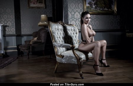 Unknown Beauty - Exquisite Glamour & Topless Playboy Brunette Pornstar, Wife & Babe with Long Nipples, Sexy Legs (Leaked Hd 18+ Photo)