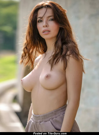 Fascinating Babe with Good-Looking Naked Real Mid Size Tit (Hd 18+ Photo)