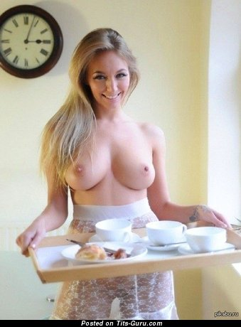 Fine Doll with Fine Bald Natural Very Big Jugs (Sex Image)
