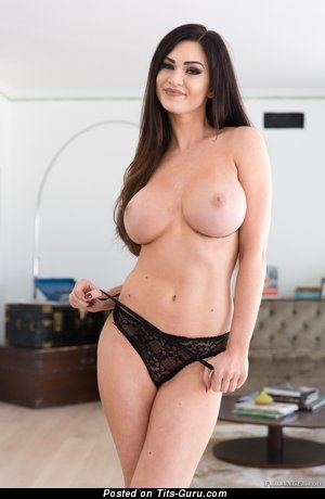 Kendall Karson - sexy naked brunette with medium boobs picture