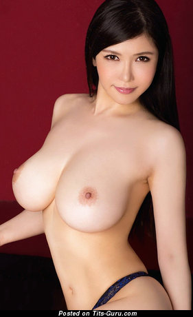 Image. Sexy nude asian brunette with medium boobs photo