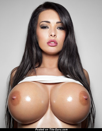 Image. Wonderful girl with huge fake boobies picture