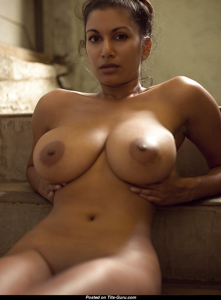 Naked Latina With Big Natural Boob Picture