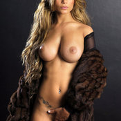 Sexy hot woman with medium natural tittys photo