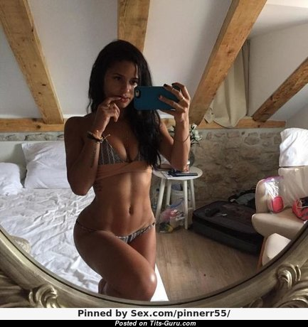 Katya Elise Henry - Stunning Non-Nude Brunette Babe with Stunning Real Soft Boobys & Sexy Legs (Selfie Porn Picture)