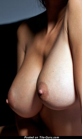 Image. Naked amazing girl with big natural breast image