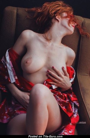 Nude red hair photo