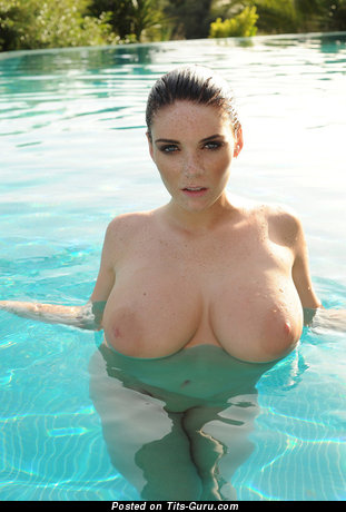 Image. Nude awesome lady with huge natural breast picture