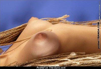 Sexy Lassie with Sexy Nude Tight Breasts & Long Nipples (Sexual Wallpaper)