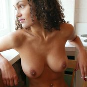 Masha Kozlova - amazing lady with natural breast picture