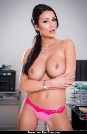 Patty Michova: sexy naked brunette with big natural tits image