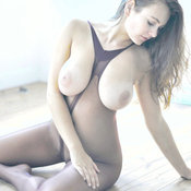 Sexy nude amazing female with big natural tittes image