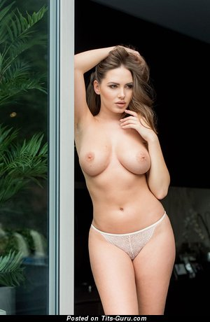 Image. Sabine Jemeljanova - nude hot lady with medium natural tits image