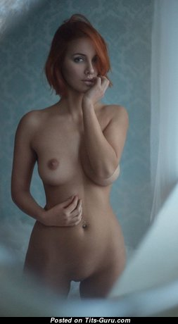 Sexy Naked Red Hair (Hd Porn Image)