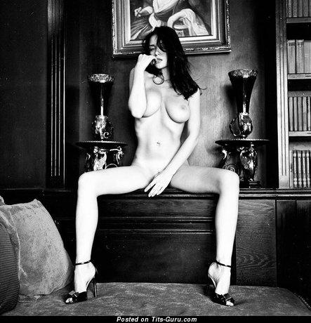 Image. Jenya D - naked wonderful lady with big natural boob image